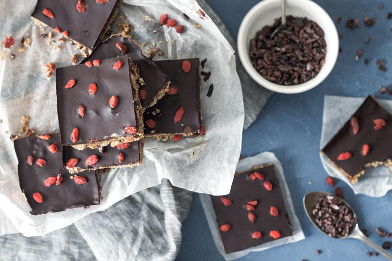 Chocolate Seed Bars