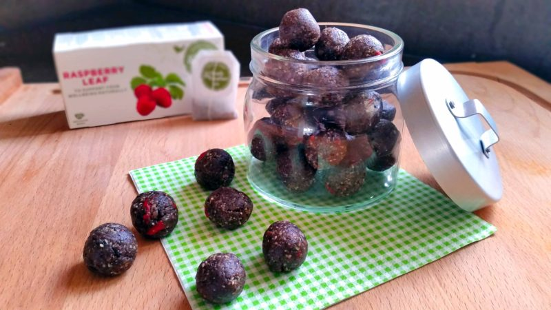 Raspberry Power Balls