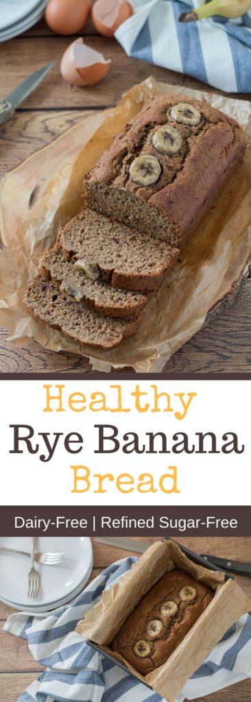 Healthy Rye Banana Bread