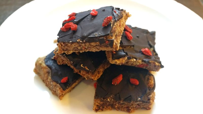 Chocolate Seed Bars