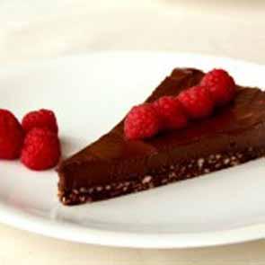 Chocolate Cake Cornucopia