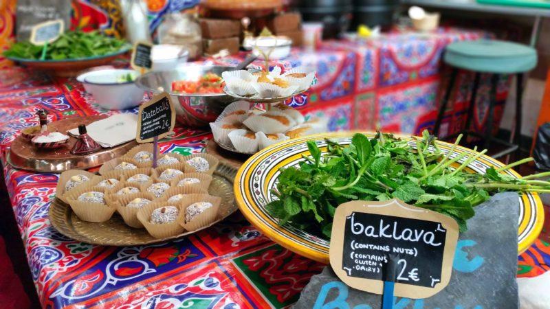 Arabic Tea Tent At Fusion Sundays