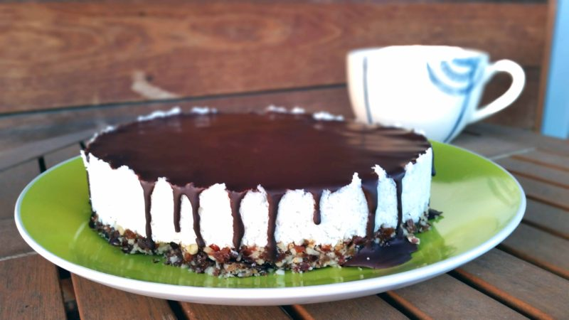 Raw Vegan Bounty Cake Recipe - The Healthy Tart