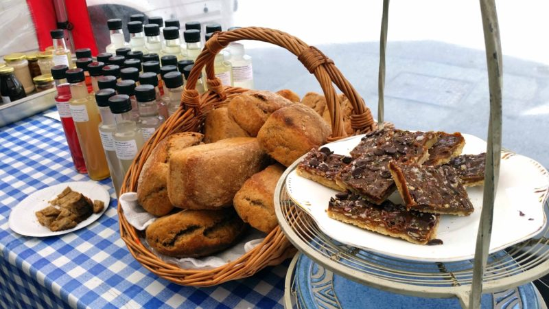 Rebel foods market stall