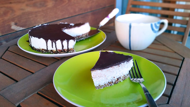 Dairy Free Chocolate Cake Filling