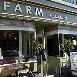 Farm restaurant front