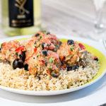 Mediterranean meatballs with a twist
