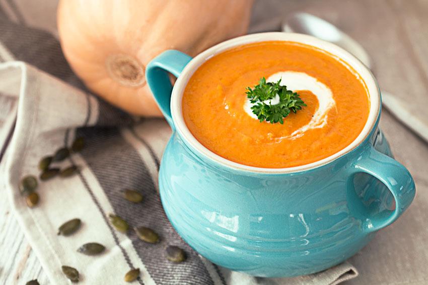 Pumpkin Soup With Coconut Milk Recipe