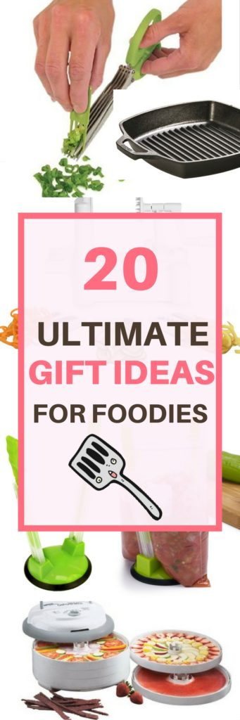 20 ultimate gift ideas for foodies