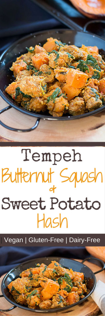 Tempeh Butternut Squash And Sweet Potato Hash
