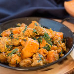 Tempeh, sweet potato and butternut squash hash| The Healthy Tart