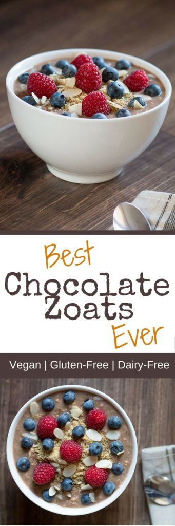 Best Chocolate Zoats Recipe Ever
