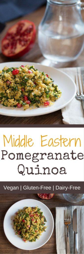 Middle Eastern Pomegranate Quinoa