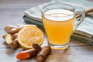 Turmeric ginger tea a natural home remedy