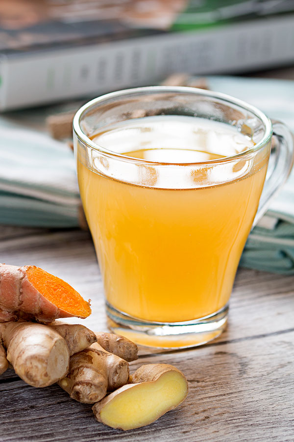 Turmeric Ginger Tea - A Natural Cold Remedy