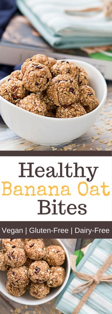 Healthy Banana Oat Bites