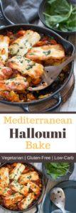 Mediterranean Halloumi Bake