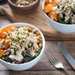 Butternut Squash & Spiced Chickpea Buddha Bowl