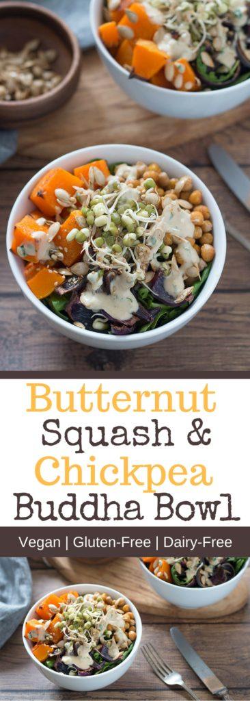 Butternut Squash & Chickpea Buddha Bowl