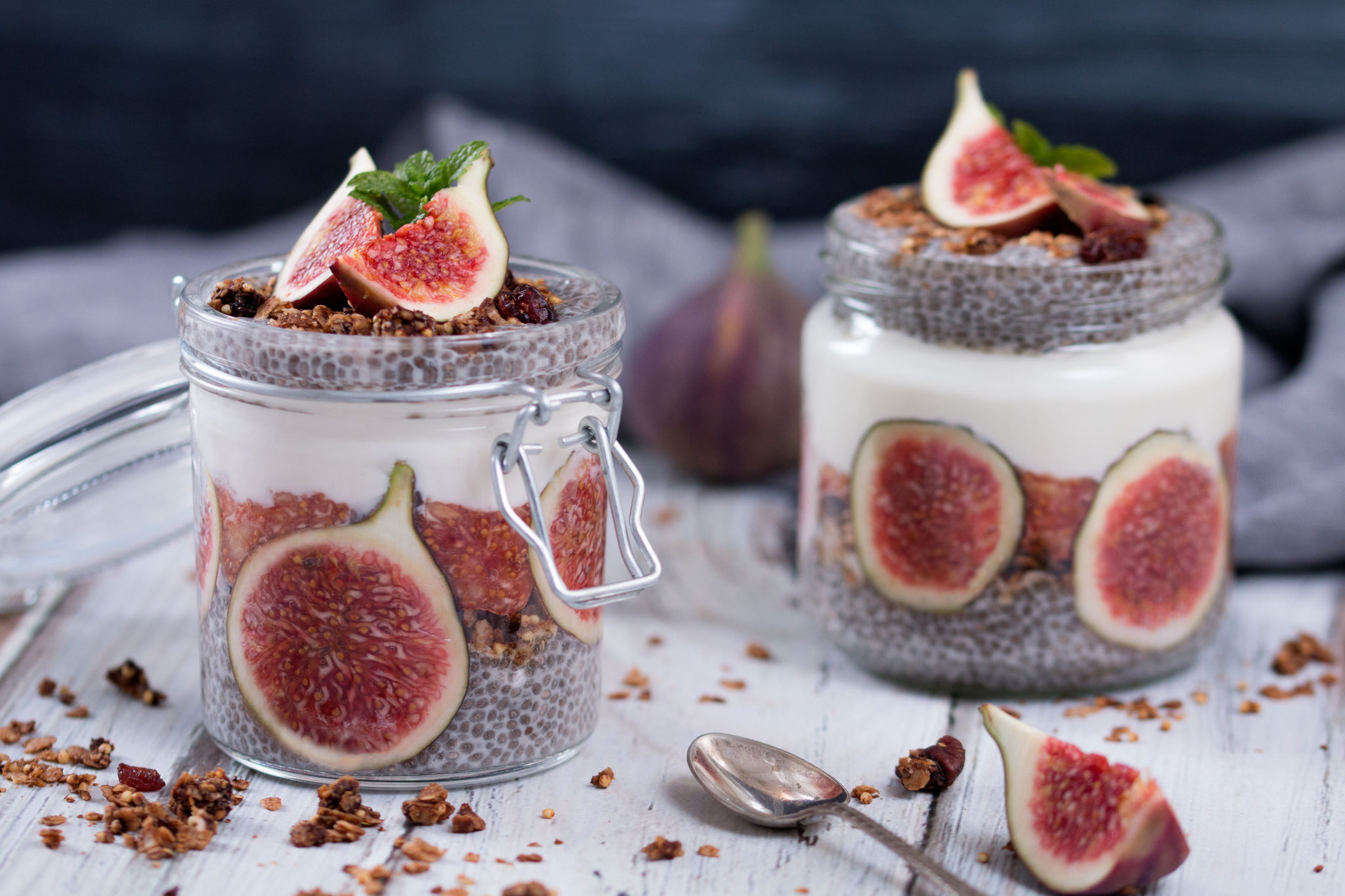 Fig Chia Pudding The Healthy Tart