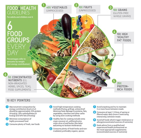 Food4Health guidelines