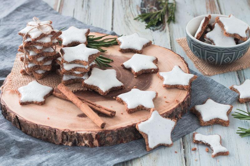 Healthier Vegan Zimtsterne (Cinnamon-Stars)
