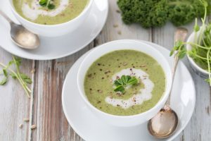 Super Green Broccoli Soup
