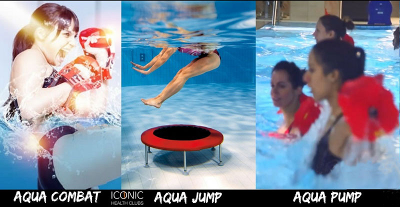 Aqua Programme at Iconic Health Clubs