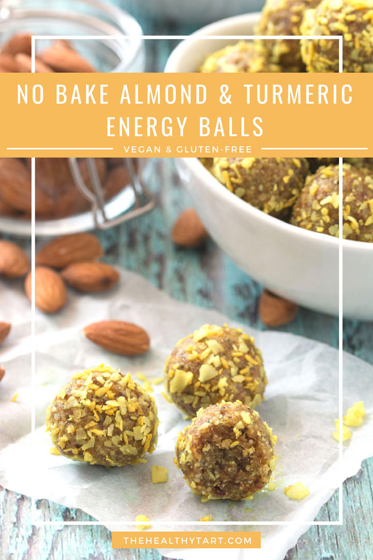 No-Bake Almond & Turmeric Energy Balls