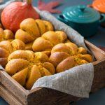 Healthy Pumpkin Bread Rolls