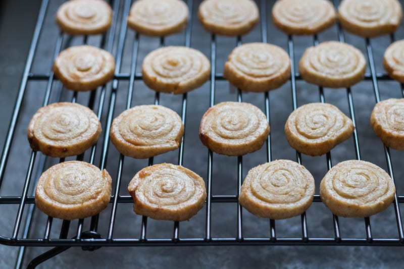 Lemon Pinwheel Cookie