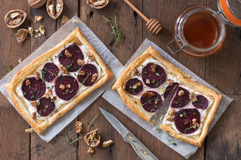 How to make Beetroot and Goats Cheese Tart