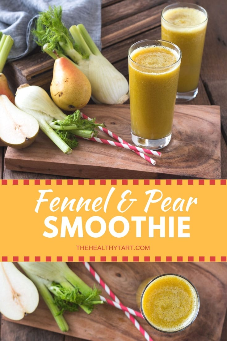 Fennel and Pear Smoothie
