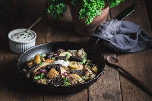 Clonakilty Black Pudding One Pan Dish