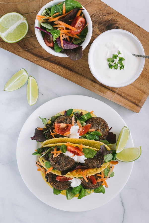 Vegan Veggie Pudding Tacos