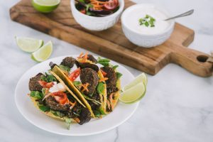Vegan Veggie Pudding Tacos