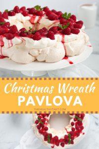 Christmas Wreath Pavlova