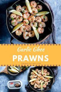 garlic ghee prawns