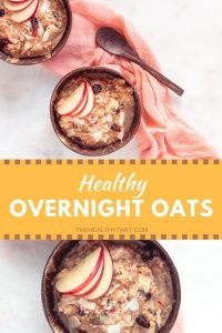 Healthy Overnight Oats Bircher Muesli